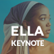ELLA Creative Keynote Template - GraphicRiver Item for Sale