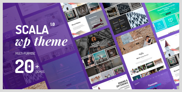 Scala – Multipurpose Theme