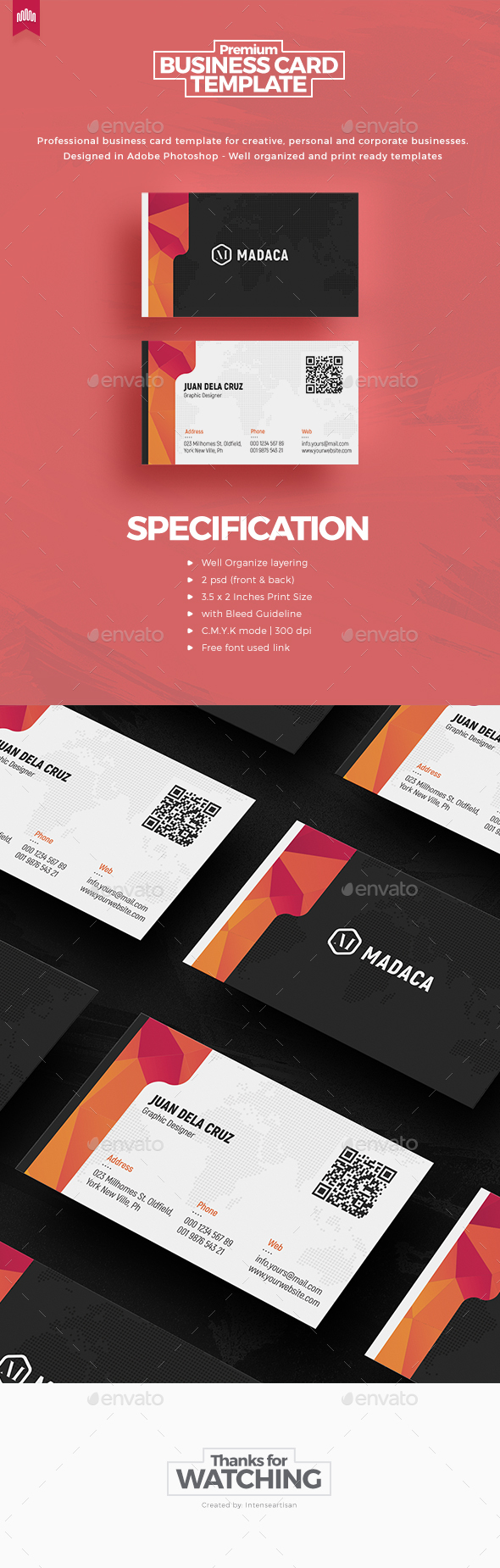 Creative - Pro Business Card v.7 - Creative Business Cards