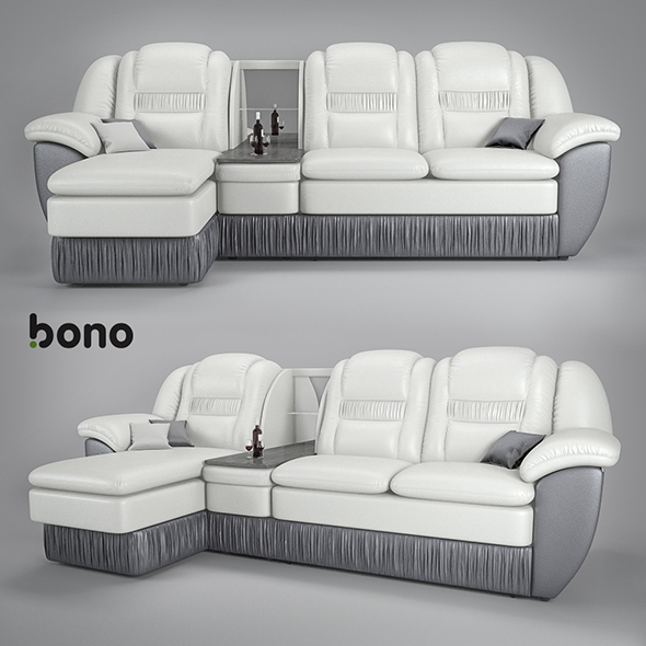 sofa Bono Chester2 - 3DOcean Item for Sale