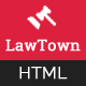 LawTown - Lawyer, Business and Law Agency HTML Template - ThemeForest Item for Sale