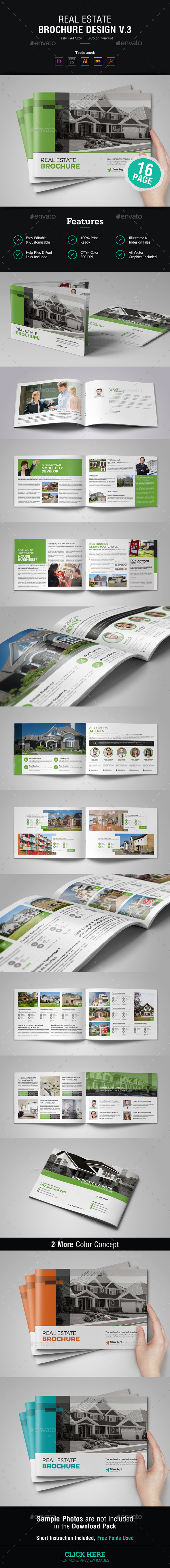 Real Estate Brochure Design v3 - Corporate Brochures