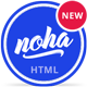 Noha - A modern & unique Agency / Studio Template Nulled