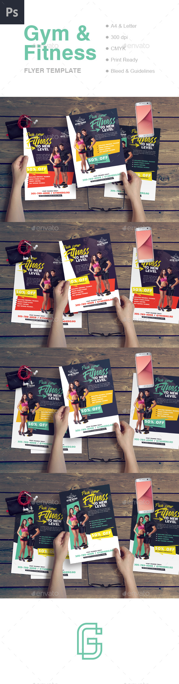 Gym Flyer - Commerce Flyers