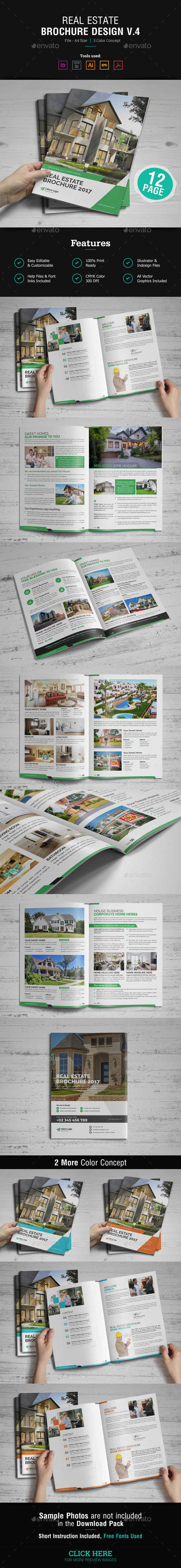 Real Estate Brochure Design v4 - Corporate Brochures