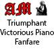 Triumphant Victorious Piano Fanfare