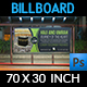 Hajj and Umrah Billboard Template - GraphicRiver Item for Sale