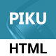 Piku - One Page MultiPurpose HTML5 Template - ThemeForest Item for Sale