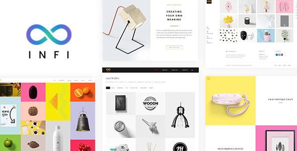 Infi Portfolio - Responsive Portfolio Theme - Portfolio Creative