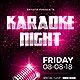Karaoke Night Flyer - GraphicRiver Item for Sale