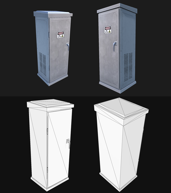 Utility Box 3 - 3DOcean Item for Sale