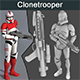 Clonetrooper With Weapon - 3DOcean Item for Sale