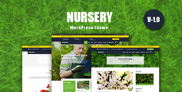 NurseryPlant – Responsive WooCommerce WordPress Theme