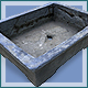 Cement Bonsai Pot - 3DOcean Item for Sale