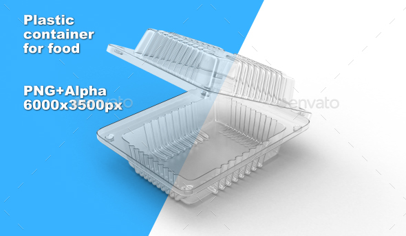 Plastic Container - Objects 3D Renders