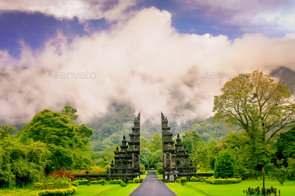 Hindu temple in Bali - Stock Photo - Images