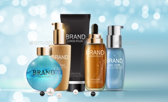 Design Cosmetics Product  Template  - Man-made Objects Objects
