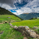 Dry stone wall in Andorra - PhotoDune Item for Sale