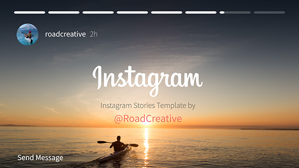 Videohive - After Effects Template -  Instagram Story