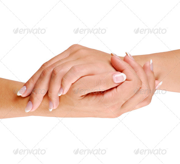 Care of hand - Stock Photo - Images