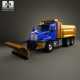 Kenworth T470 Road Cleaner Truck 3-axle 2009