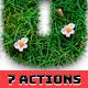 Grass Text Effect Generator