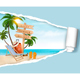 Summer Vacation Background. Vector. - GraphicRiver Item for Sale