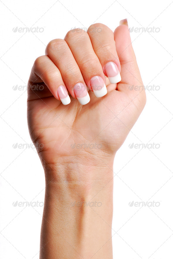 Beautifull woman hand. - Stock Photo - Images