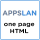 Appslan - One Page App Landing Page - ThemeForest Item for Sale