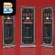 Vape Shop Roll Up Banner - GraphicRiver Item for Sale
