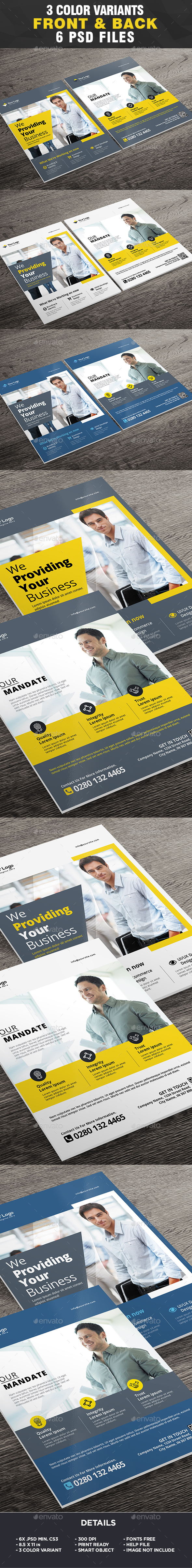 Corporate Business Flyer Template - Business Flyer Template - Corporate Flyers
