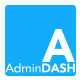 AdminDash - Dashboard for Admin - PSD Template - ThemeForest Item for Sale
