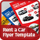 Rent a Car Flyer Template - GraphicRiver Item for Sale