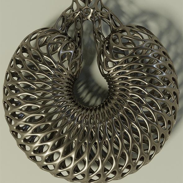 Interstellar earring - 3DOcean Item for Sale