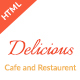 Restaurant and cafe HTML Template - ThemeForest Item for Sale