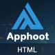 Apphoot - Responsive App Landing Page Template - ThemeForest Item for Sale
