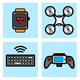 Technology Icon Set - GraphicRiver Item for Sale