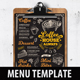 Coffee Menu Template - GraphicRiver Item for Sale
