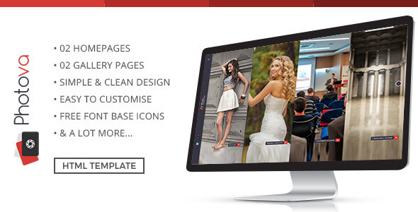 Photography Photova - Modern & Stylish Photography Template - Photography Creative