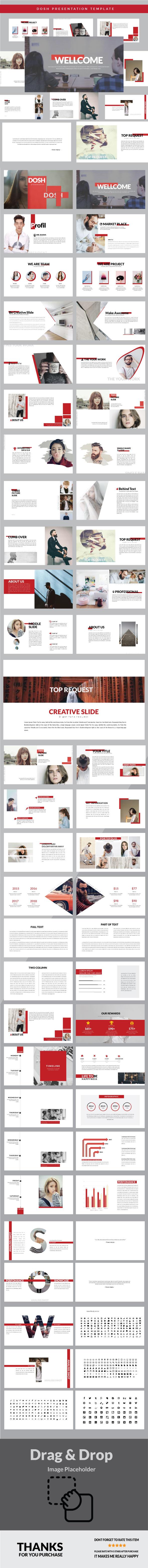 Dosh - Google Slide - Google Slides Presentation Templates