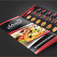Trifold Menu Template Vol.15 - GraphicRiver Item for Sale