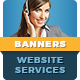 Web Services Banners - GraphicRiver Item for Sale