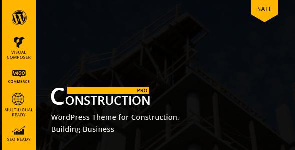 Constructionpro - WP Construction, Building Business
