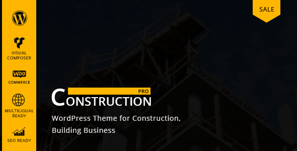 Constructionpro – WP Construction, Building Business Free Download