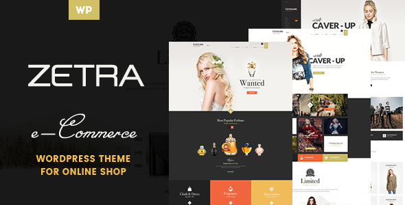 Zetra – A WordPress Theme for eCommerce Websites