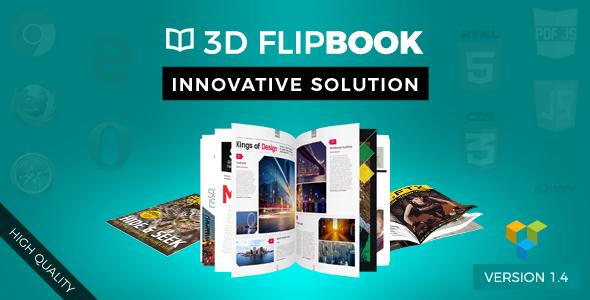 Unreal FlipBook Addon for Visual Composer WordPress Plugin - CodeCanyon Item for Sale