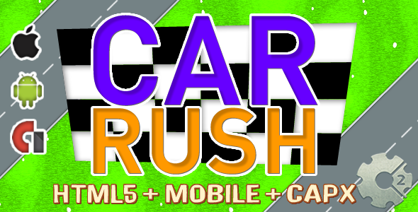 CAR RUSH (Admobs + HTML5) .capx - CodeCanyon Item for Sale