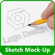Sketchbook Mock-Up - GraphicRiver Item for Sale