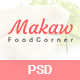 Makaw - Restaurant PSD Template - ThemeForest Item for Sale