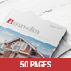 Homeko - 50 Pages Interior Magazine Template - GraphicRiver Item for Sale